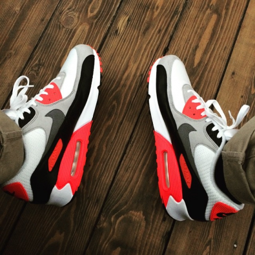 Fresh #infrared #nike #airmax #airmaxalways