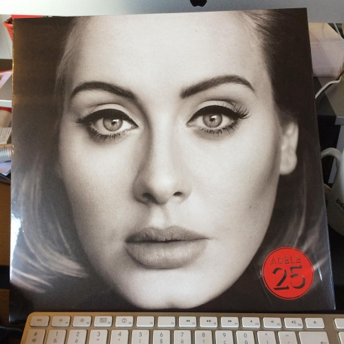 New delivery. Siked #25 @adele
