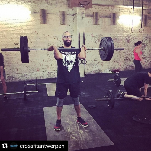 Get strong, lift weights @crossfitantwerpen with @repostapp.・・・Beast mode ON