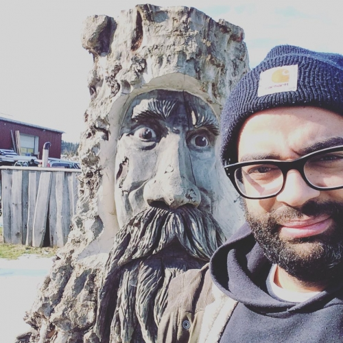 Chillin' with an ent.
